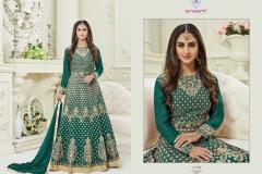 Arihant Designer Karwa Special Wholesale Anarkali Catalog Collection Karwa 12100