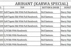 Arihant Designer Karwa Special Wholesale Anarkali Catalog Collection RATE