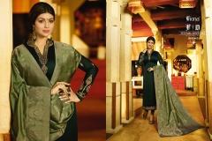 Fiona Ayesha Jacquard Vol 2 Wholesale Suit Catalog Collection 22041