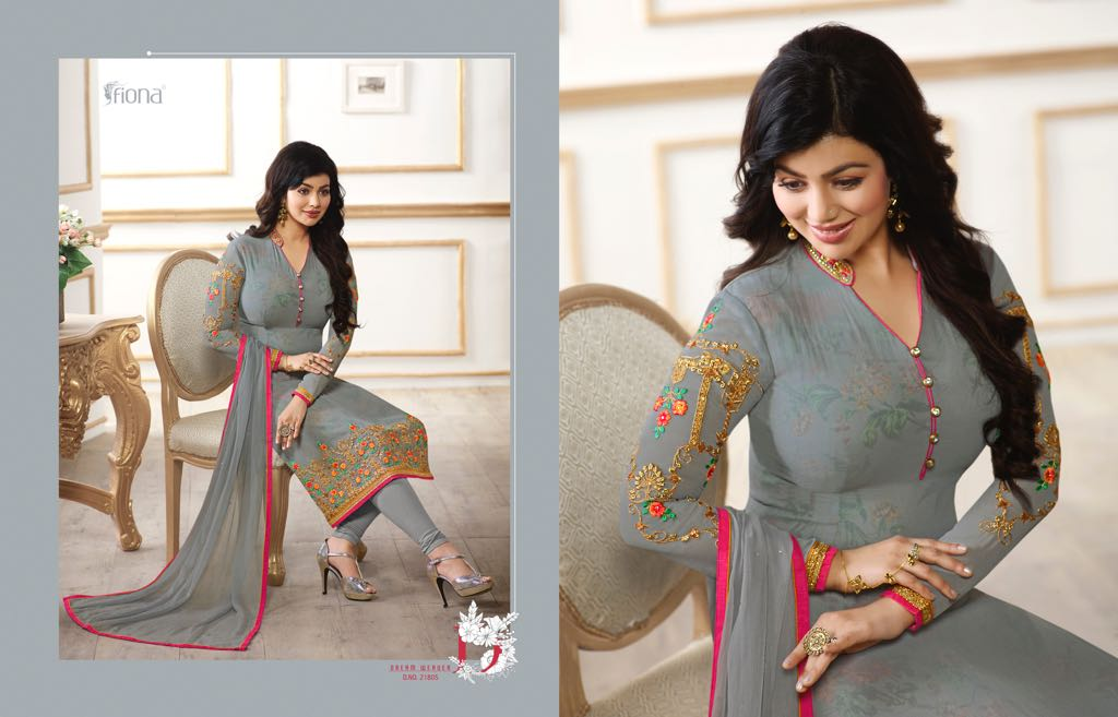8ade10331e Fiona Ayesha Takia Vol 22 Wholesale Salwar Suit Catalog Collection  Ayesha22-21805-B