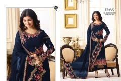 Glossy Reenaz-18010-Color Wholesale Suit Catalog Collection-18010-A