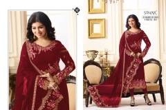 Glossy Reenaz-18010-Color Wholesale Suit Catalog Collection-18010-B