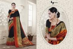 LT FABRICS Handloom Silk Wholesale Saree Catalog Collection Handloom 21003