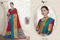 LT FABRICS Handloom Silk Wholesale Saree Catalog Collection Handloom 21004