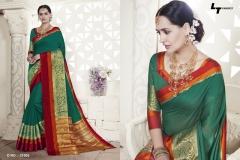 LT FABRICS Handloom Silk Wholesale Saree Catalog Collection Handloom 21005