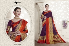 LT FABRICS Handloom Silk Wholesale Saree Catalog Collection Handloom 21006