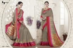 LT FABRICS Handloom Silk Wholesale Saree Catalog Collection Handloom 21008