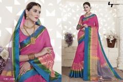 LT FABRICS Handloom Silk Wholesale Saree Catalog Collection Handloom 21009