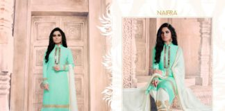2e581ef711 Nairra Queen Of Ethnic Wear Essenita Wholesale Suit Catalog Collection